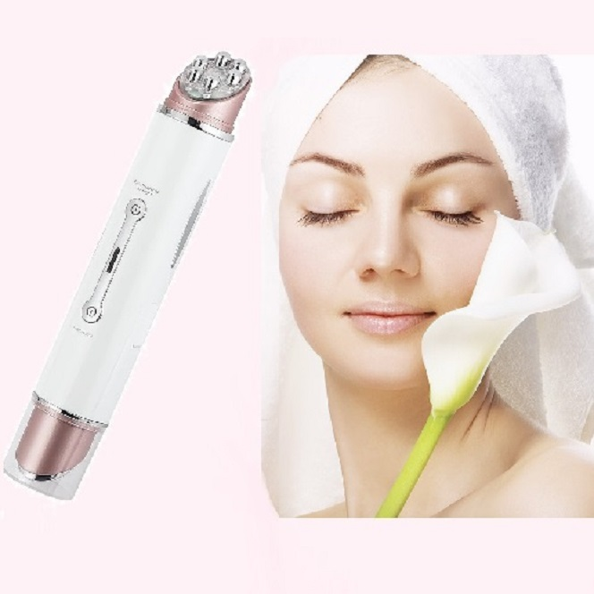 Visage Perfect Roller Pen: Face anti-aging treatment. Non-invasive treatment wrinkle reduction, skin tightening, Improve Skin Tone and skin rejuvenation. Soins Jeunesse - Paris